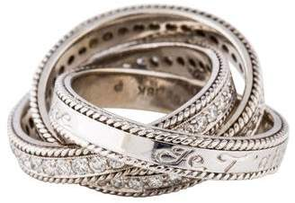 Penny Preville 18K Diamond Interlocking Bands