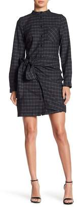 J.o.a. Plaid Long Sleeve Dress