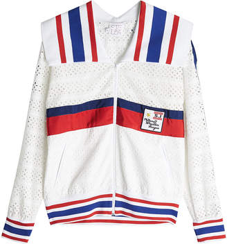 Stella Jean Broderie Anglaise Jacket