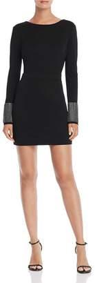 Aqua LUXE Capsule Embellished V-Back Mini Dress - 100% Exclusive