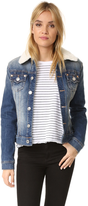 True Religion Western Dusty Trucker Denim Jacket $249 thestylecure.com
