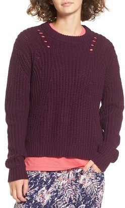 Women's Roxy Bright Whites Knit Sweater $59.50 thestylecure.com