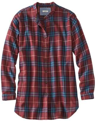 L.L. Bean L.L.Bean Rangeley Flannel Tunic, Plaid