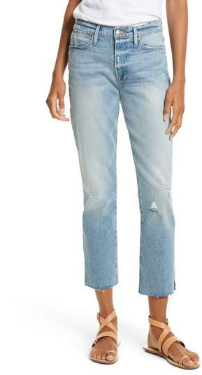 Le High Crop Straight Jeans