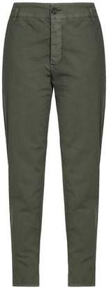 James Perse Crinkled Stretch-Cotton Tapered Pants