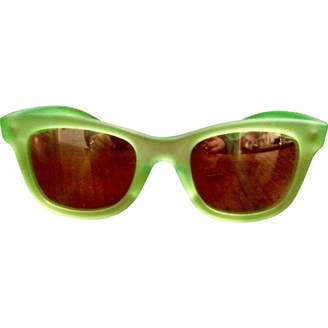 Enrico Coveri Green Plastic Sunglasses