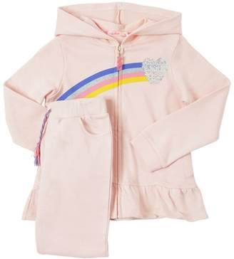Billieblush Sequined Cotton Sweatshirt & Sweatpants