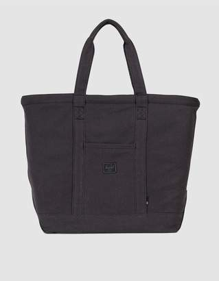 Herschel Bamfield Cotton Canvas Tote Bag in Canvas Black