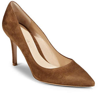 Gianvito Rossi Texas Suede Pump