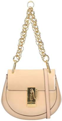Chloé Pink Powder Leather Mini Drew Bag