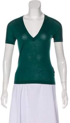DSQUARED2 Wool V-Neck Top