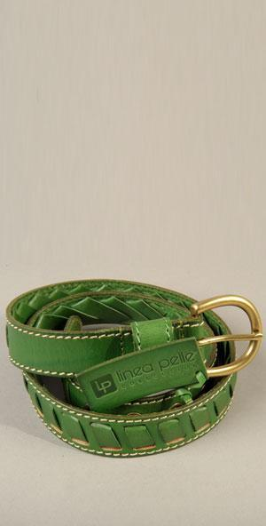 Linea Pelle, Inc. Linea - Skinny W/ Leather Woven