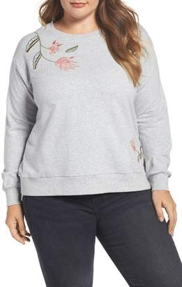 Vince Camuto Embroidered Sweatshirt