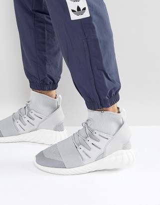 adidas Tubular Doom Winter Sneakers In Gray BY8701