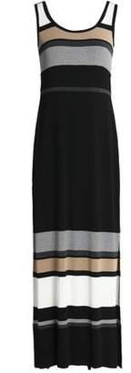 Bailey 44 Striped Stretch-jersey Maxi Dress