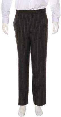 Michael Kors Pinstripe Flat Front Pants