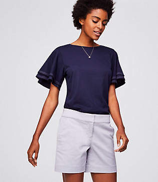 LOFT Riviera Shorts with 6 Inch Inseam