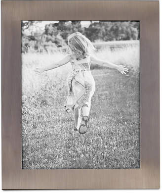 "Martha Stewart Collection Brushed Metal 8"" x 10"" Frame, Created for Macy's"