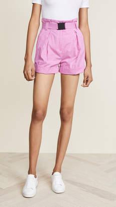 No.21 No. 21 Checked Shorts