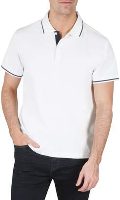 Kenneth Cole New York Slim-Fit Short-Sleeve Polo
