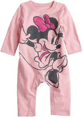 Disneyjumping Beans Disney's Minnie Mouse Baby Girl Coverall by Jumping Beans