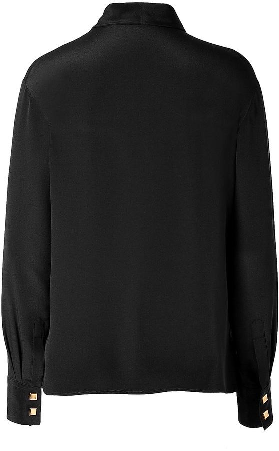 Ungaro Silk Blouse in Black