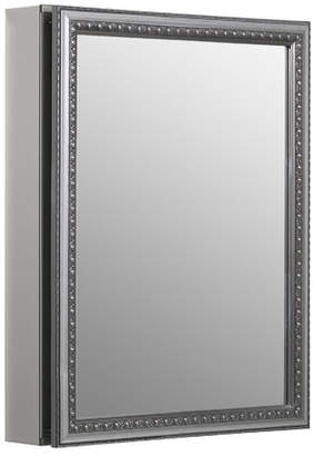 "Kohler 20"" x 26"" Recessed or Surface Mount Framed Medicine Cabinet with 2 Adjustable Shelves"