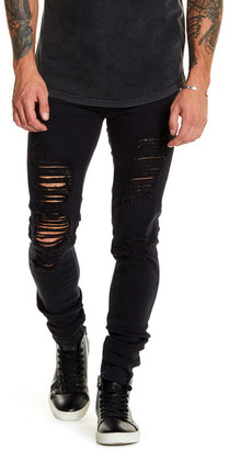 nANA jUDY Signature Low Rise Distressed Skinny Jean $100 thestylecure.com