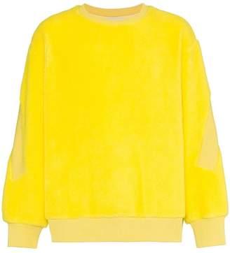 Facetasm fleece wool jumper