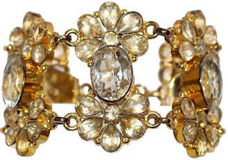 One Kings Lane Vintage Gold-Plated & Sterling Silver Bracelet - Little Treasures