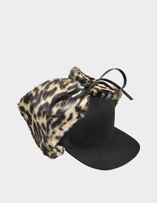 Stella McCartney LEOPARD HAT