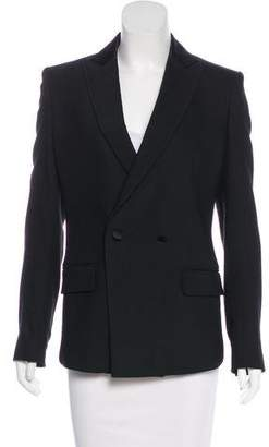 BLK DNM Structured Wool-Blend Blazer