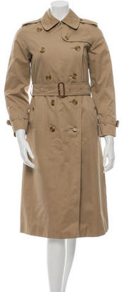 Burberry Wool Trench Coat $395 thestylecure.com