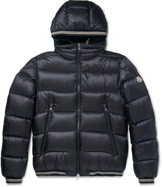 Moncler Jeanbart Quilted Shell Hooded Down Jacket $1,150 thestylecure.com