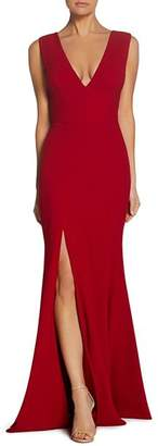 Dress the Population Sandra Plunging Gown