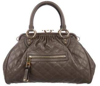 Marc Jacobs Quilted Leather Stam Satchel