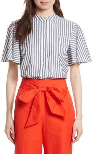 Women's Kate Spade New York Stripe Cotton Top