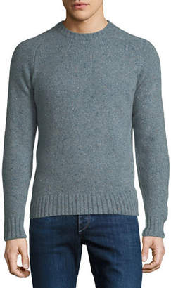 Peter Millar Men's Crown Vintage Saddle Crewneck Sweater