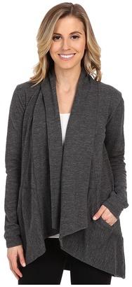 Lucy - Tranquility Slub Wrap Women's Sweater $79 thestylecure.com