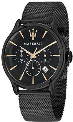Epoca MASERATI Men's 'Epoca' Quartz Stainless-Steel-Plated Fashion Watch