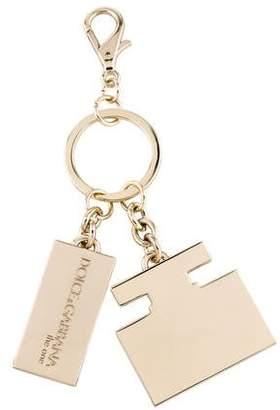 Dolce & Gabbana Logo Keychain