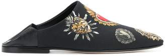 Dolce & Gabbana printed mules
