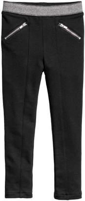 H&M Jersey Treggings - Black