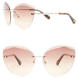 Diane von Furstenberg 63mm Cat Eye Sunglasses
