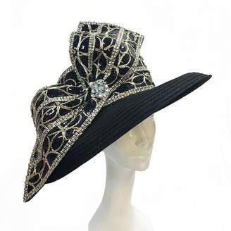LG Electronics Whittall & Shon Brim Sequin Trim Derby Hat