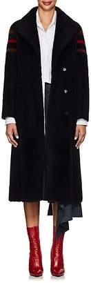 """BLANCHA Women's """"New York"""" Shearling Wrap Coat"""