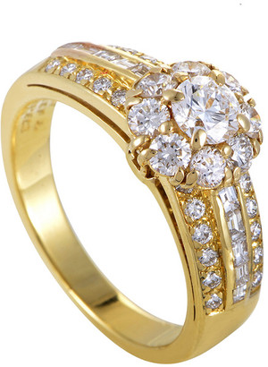 Van Cleef & Arpels Heritage  18K 1.10 Ct. Tw. Diamond Ring