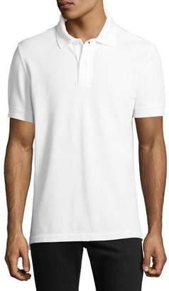 Tom Ford Garment-Dyed Tennis Pique Polo Shirt
