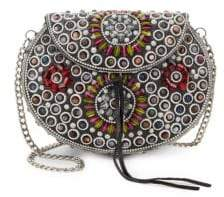 Sam Edelman Classic Embellished Crossbody Bag