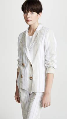 Anna October Soft Stripe Blazer